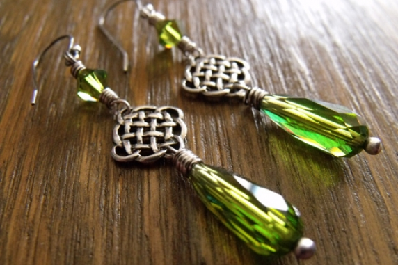 St Patrick Day Earrings